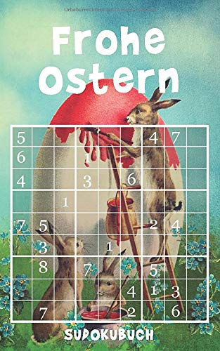 Frohe Ostern - Sudokubuch: 192 knifflige Rätsel  ...