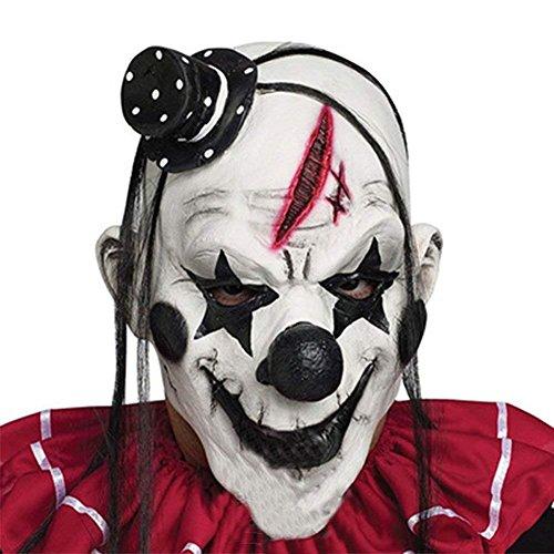 Di&Mi Killer Clown Cosplay Kostüm Maske für...
