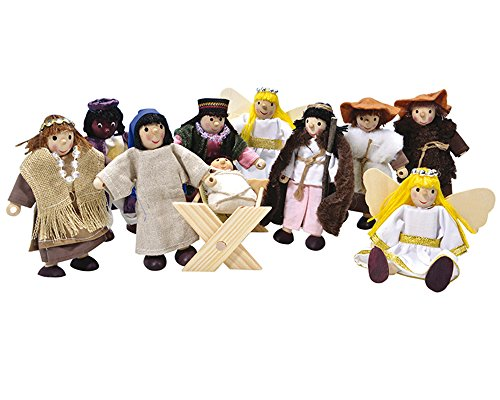 Winzlinge 309-21 Krippenfiguren Set klein -...