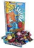 CAPTAIN PLAY | Retro Süßigkeiten Adventskalender | 313g