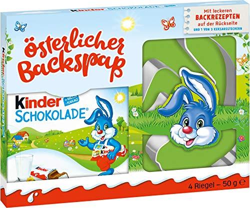 Kinder Schokolade Keksausstecher Oster Backspaß...