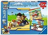 Ravensburger Kinderpuzzle 09369 - Helden mit Fell - 3 x 49 Teile