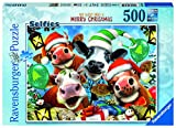 Ravensburger Frohe Weihnachten Puzzle 500 Teile Puzzle Puzzle für Erwachsene