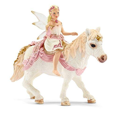 Schleich 70501 - Lilienzarte Elfe auf Pony reitend