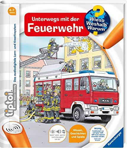 tiptoi® Unterwegs mit der Feuerwehr (tiptoi®...