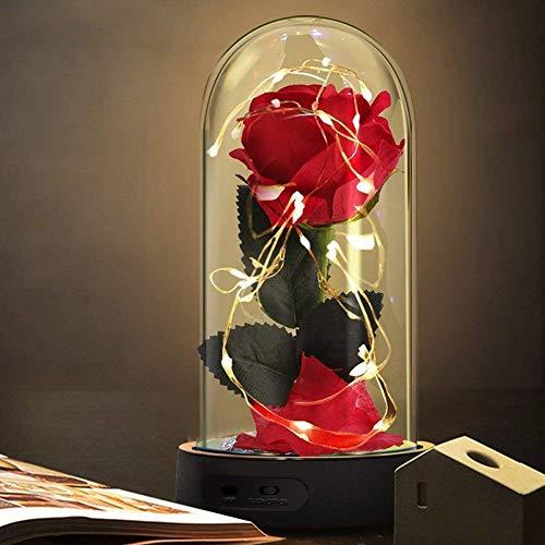 Die Schöne und das Biest Rose Geschenk Kit, rote...