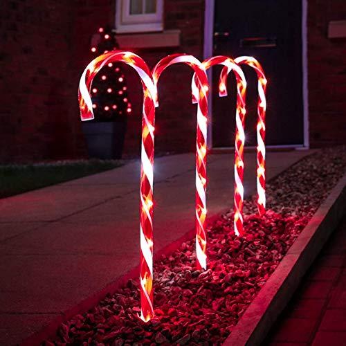 Festive Lights - 4er Set – beleuchtete...