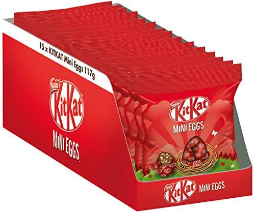Nestlé KITKAT Mini-Ostereier, 15er Pack (15 x...
