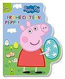 Frohe Ostern, Peppa! - Peppa Pig: Pappbilderbuch mit Konturenstanzung