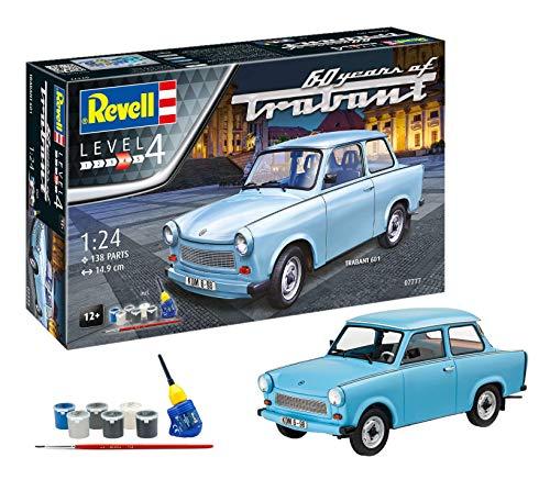 Revell 07777 60 Jahre Trabant 601S, Jubiläumsset...