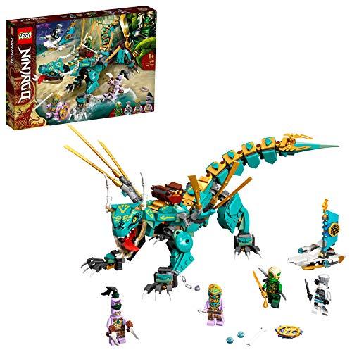 LEGO 71746 NINJAGO Dschungeldrache Bauset, mit...