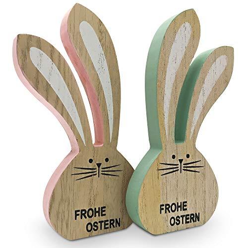 Decorenny Osterhasen Pärchen wünscht Frohe...