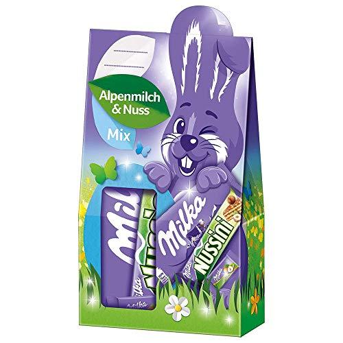 Milka Geschenkbox Alpenmilch & Nuss Mix Ostern 1 x...