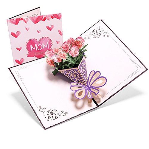 ASANMU Karte zum Muttertag Geburtstagskarte für...