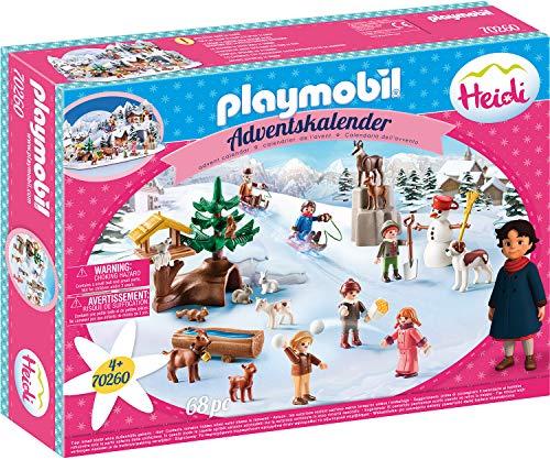 PLAYMOBIL Adventskalender 70260 Heidis Winterwelt,...