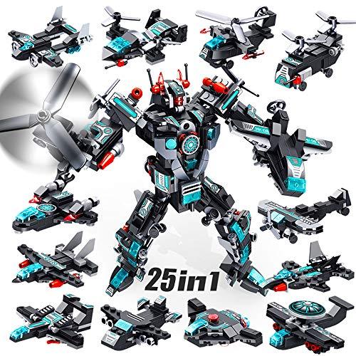 VATOS Roboter Bausteine Spielzeug ab 6 7 8 9 10...