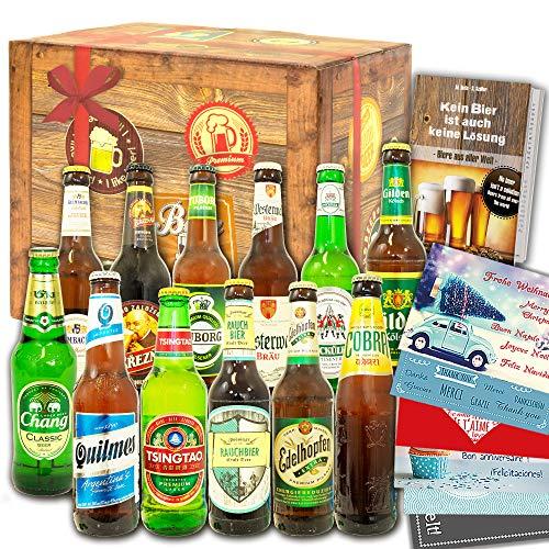 12x Bier aus der Welt & Deutschland/Geschenk...
