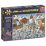Jumbo Spiele GmbH JUM19065 Puzzle: Die Winterspiele (Van Haasteren) (1000 Teile), Multi