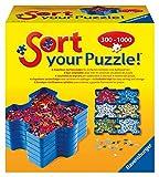 Ravensburger Sort your Puzzle - 6 stapelbare Puzzle-Sortierschalen zum einfachen Sortieren und Aufbewahren von Puzzleteilen, Ideales Zubehör für Puzzler