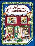 Mein Wimmel-Adventskalender: Mit 24 Pappbilderbüchern