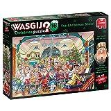 Jumbo 19183 Wasgij 16 Die Weihnachtsshow 2x1000 Teile Puzzle