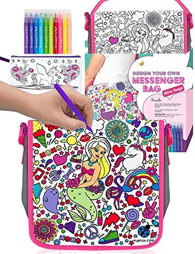 Purple Ladybug Kleine Handtasche für Mädchen -...