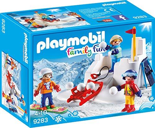 Playmobil 9283 - Schneeballschlacht