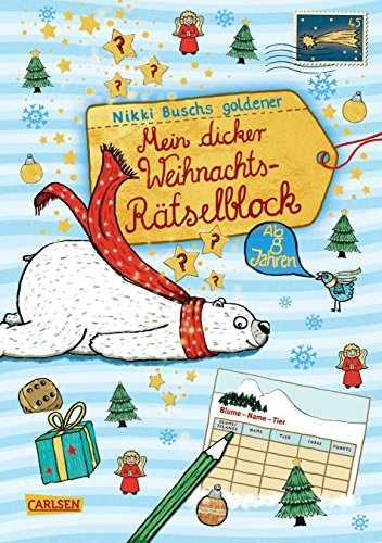 Mein dicker Weihnachts-Rätselblock: Band 4:...