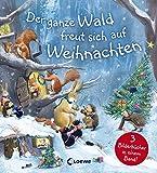 Der ganze Wald freut sich auf Weihnachten: Weihnachtsgeschichte für Kinder ab 4