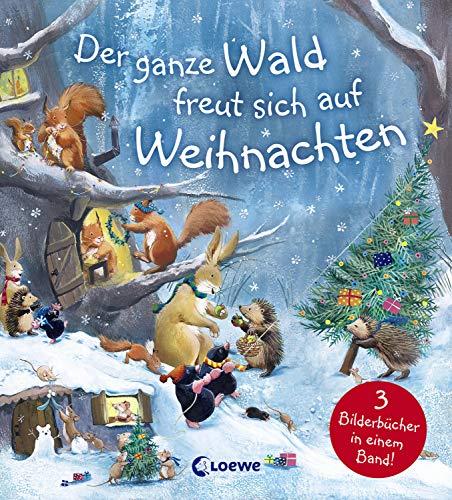 Der ganze Wald freut sich auf Weihnachten:...