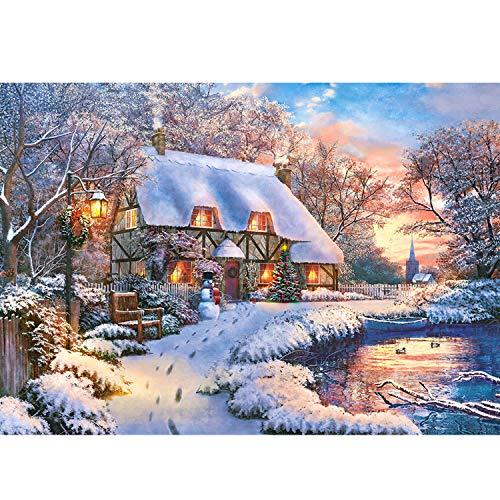 Castorland CSB53278 B-53278-Winter Cottage Puzzle...