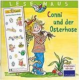 LESEMAUS 77: Conni und der Osterhase: Mit tollem Conni-Oster-Stickerbogen (77)