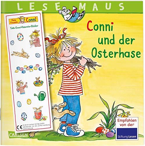 LESEMAUS 77: Conni und der Osterhase: Mit tollem...