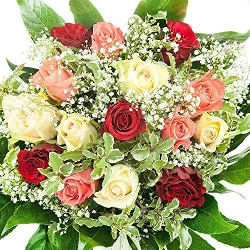Bunter Geburtstag Blumenstrauß - Bumo - Inkl....