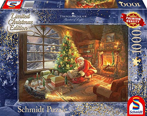 Schmidt Spiele 59495 Pz. Der Weihnachtsmann ist da...