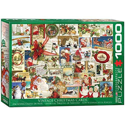 EuroGraphics Puzzle Antike Weihnachtskarten