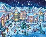 Vermont Christmas Company Dorfplatz im Winter Jigsaw Puzzle 1000 Teile