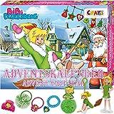 CRAZE Adventskalender 2020 BIBI BLOCKSBERG verhexte Abenteuer 3D Specials Kinderschmuck Haarschmuck Kinder Weihnachtskalender mit tollen Überraschungen 25291