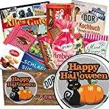 Happy Halloween / DDR Süssigkeiten Geschenk / Mitbringsel Halloween Party